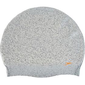 speedo Tango Pop Recycled Silicone Cap Women grey-fluo orange